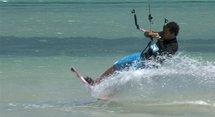 Le kite, la recherche et le CTOS sur LCI Nautisme