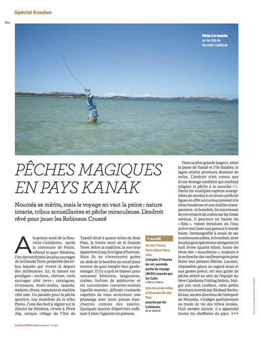 © Parution Nouvel Observateur 12 mai 2011
