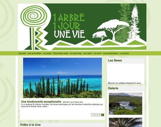 """Antipode lance le site """"1 arbre, 1 jour, une vie"""""""