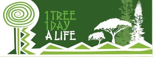 Antipode créé et lance le site internet www.1tree1day1life.nc