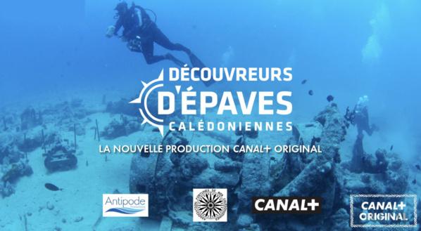 Une série de 6X26 minutes sur les épaves calédoniennes pour Canal+ Calédonie