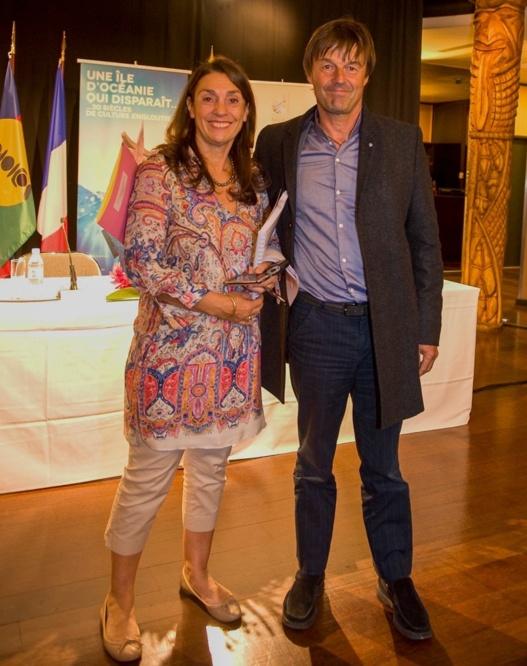 Florence Dhie-Le Guénédal et Nicolas Hulot : une amitié solide et ancienne au service de la planète