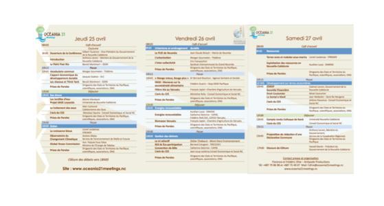 Antipode réalise le programme d'Oceania 21 Meetings 2013
