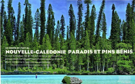 Figaro Magazine : 7 et 12 pages sur la Nouvelle-Calédonie