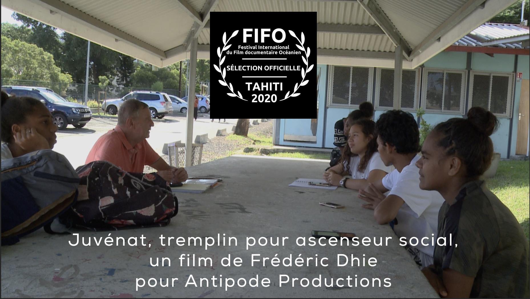 Le Juvénat en sélection officielle au FIFO 2020