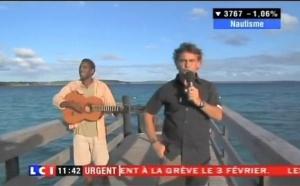 Tournage TV : Lifou, Hobie Cat et chercheurs plongeurs