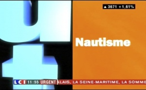 Reportage : Emmanuel Kasarhérou invité de Rémi Pelletier dans Nautisme sur LCI