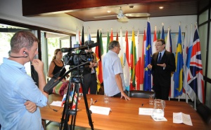 Antipode tourne pour l'Agence France Presse - AFP Video