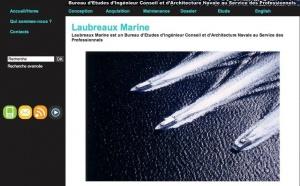 Antipode réalise le site Laubreaux Marine