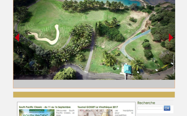 Antipode relooke le site du Tina Golf Club