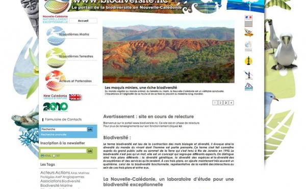 Antipode conçoit et réalise le portail de la biodiversité calédonienne