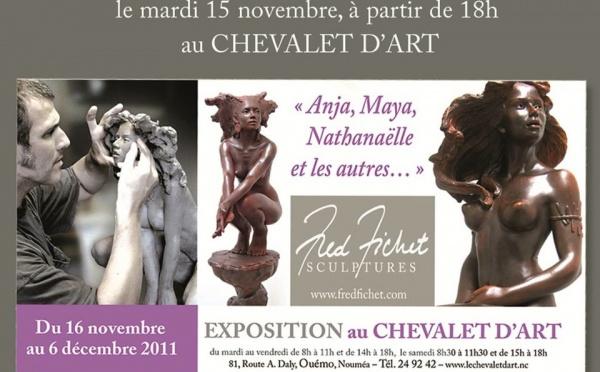Antipode réalise les relations presse de Fred Fichet  pour la Métropole et la zone Pacifique à l'occasion de son exposition au Chevalet d'Art.