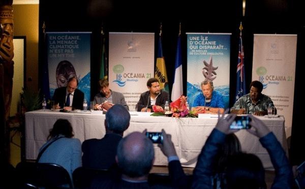 Antipode a organisé la conférence de presse de restitution d'Océania21Meetings à la Maison de la Nouvelle-Calédonie