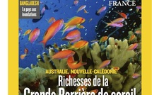 8 pages sur le lagon calédonien dans National Geographic France