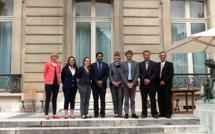 La délégation calédonienne reçue à l'Elysée